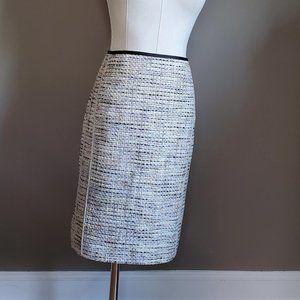 Etcetera Boucle knee length work or office skirt